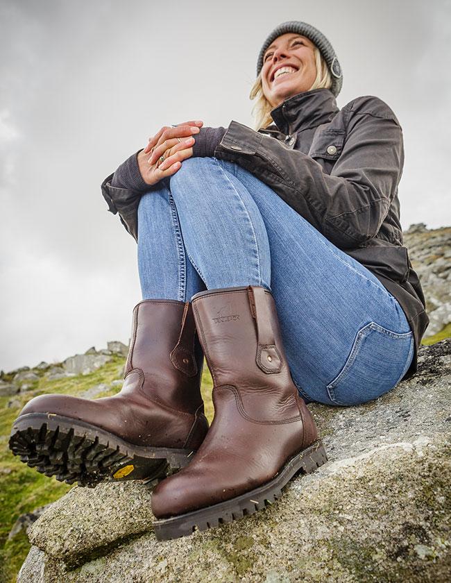 Women's Waterproof Dog Walking Boots