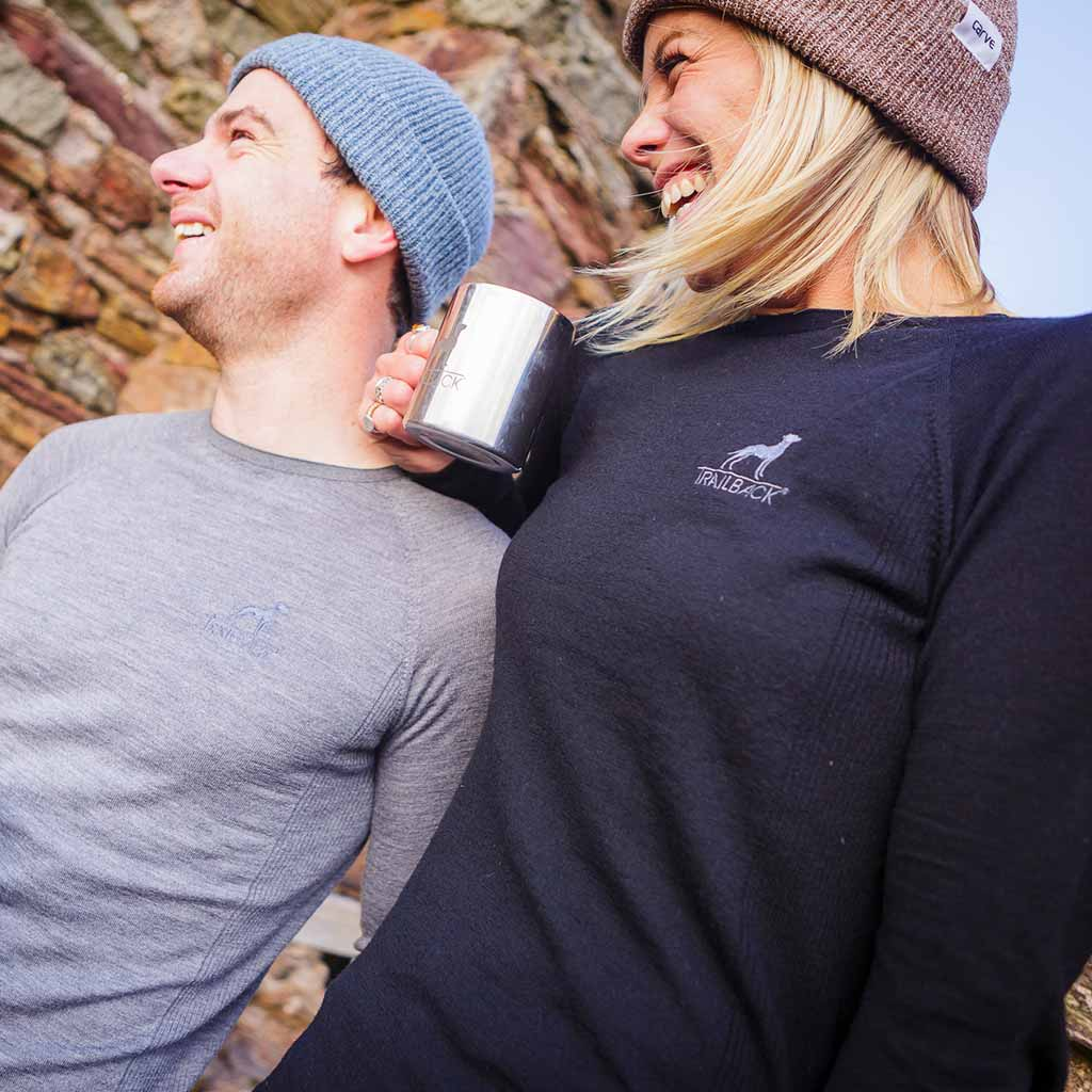 Trailback 100% Merino Wool Base Layers